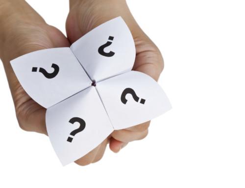 Fragen, die der Wahl der Tür vorangehen