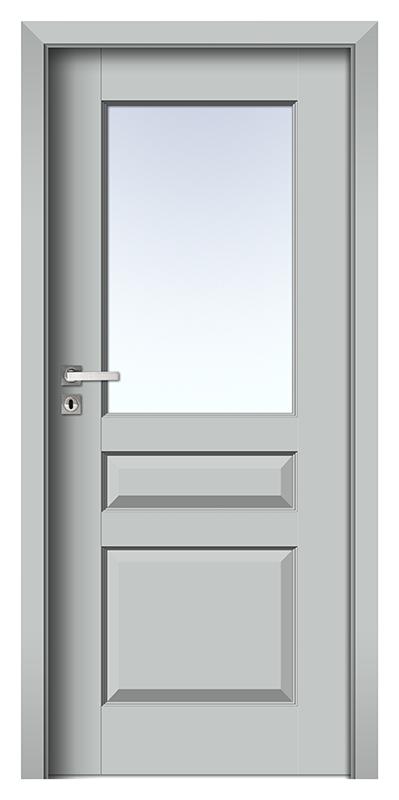 Nestor 6 trend Gestrichene HDF Tür grau