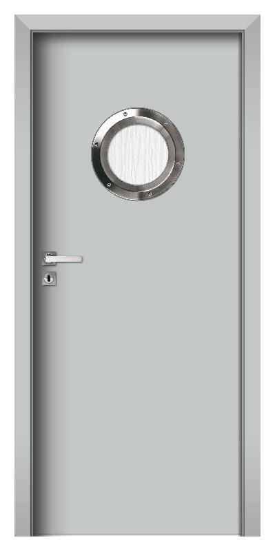 Bulaj TOP 10 Gestrichene HDF Tür Metal Grau