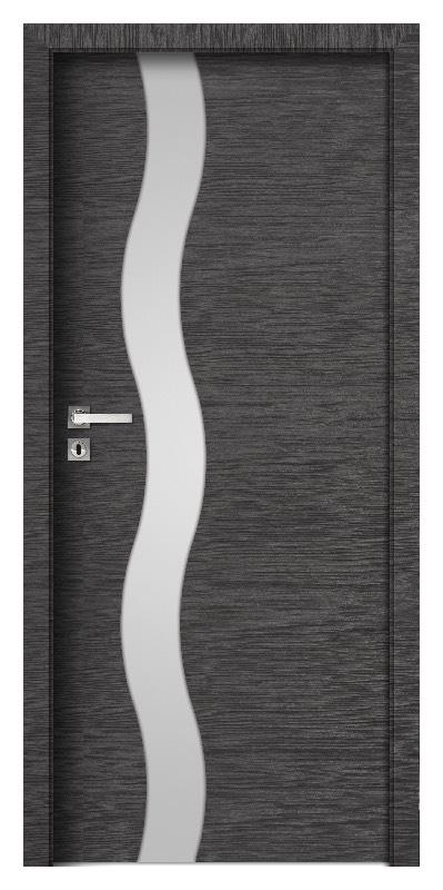 Innentüren eiche mit glas  Türen aus gehärtetem Glas - laminiert Türen